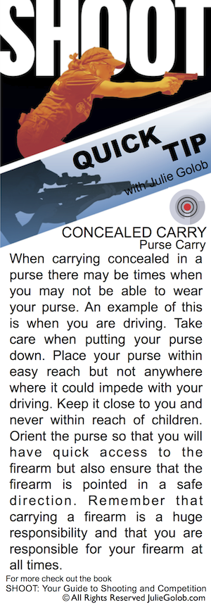 SHOOTing Tip - Purse Carry and Driving
