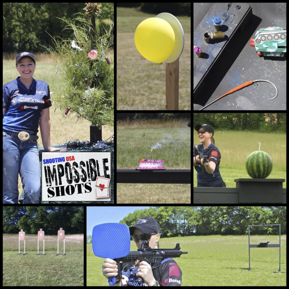 2013 Shooting USA's Impossible Shots with Julie Golob