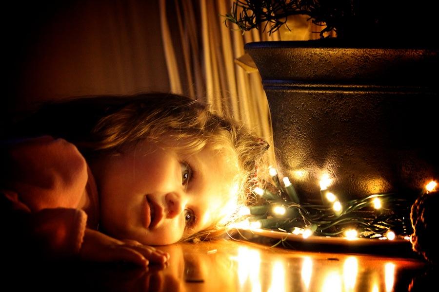 Munchkin at Christmas
