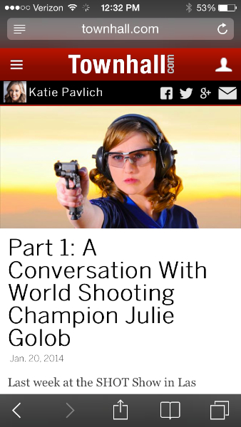 Conversation with Katie Pavlich - Townhall.com