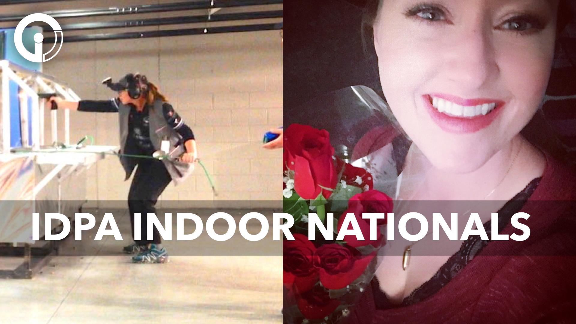 Julie Golob Shoots the IDPA Indoor Nationals