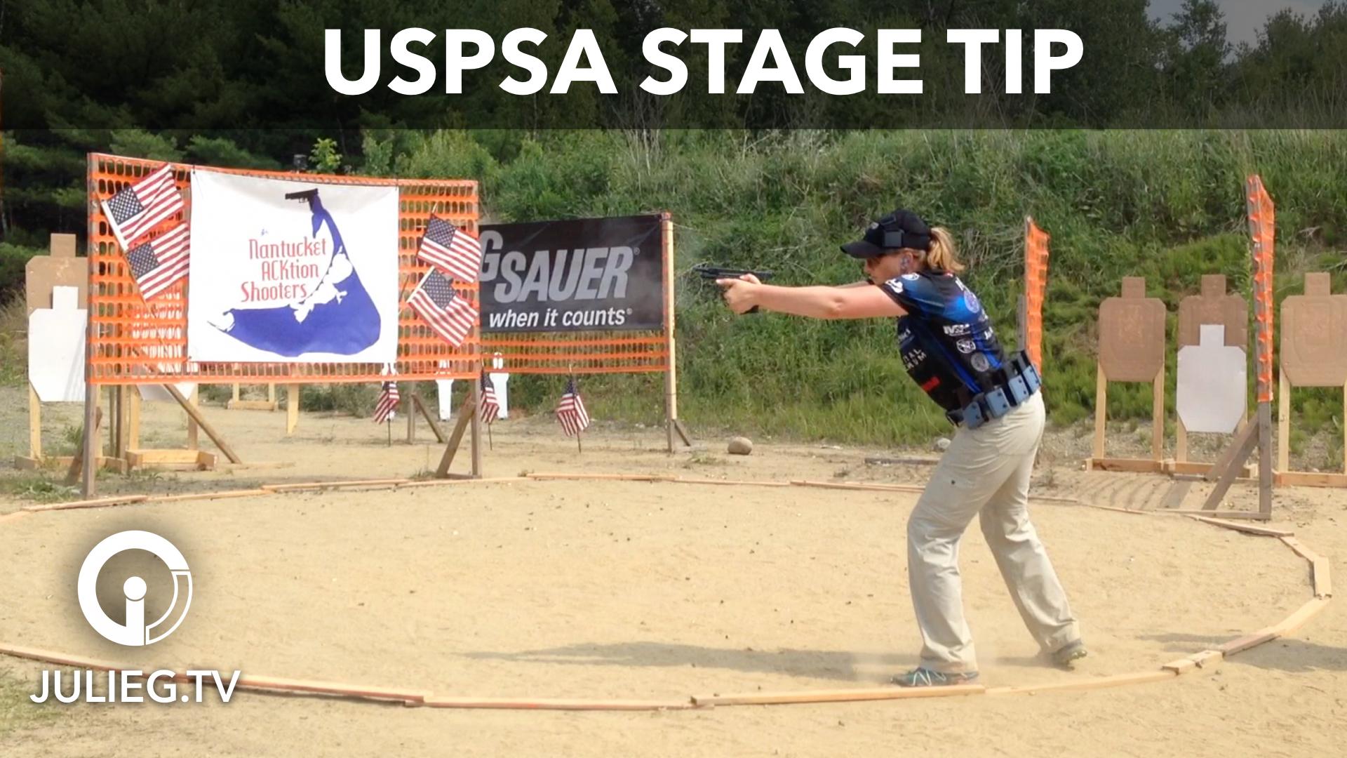 USPSA Area 7 Stage Breakdown Tip