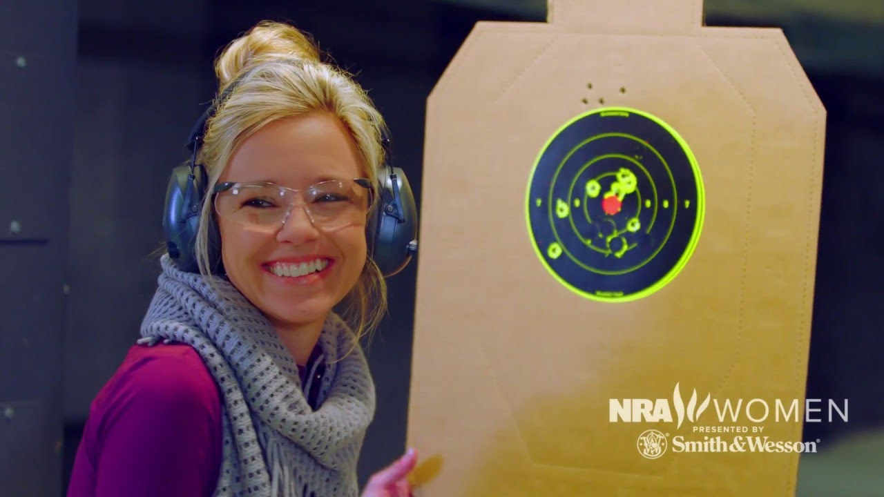NRA Women - That's love at first shot
