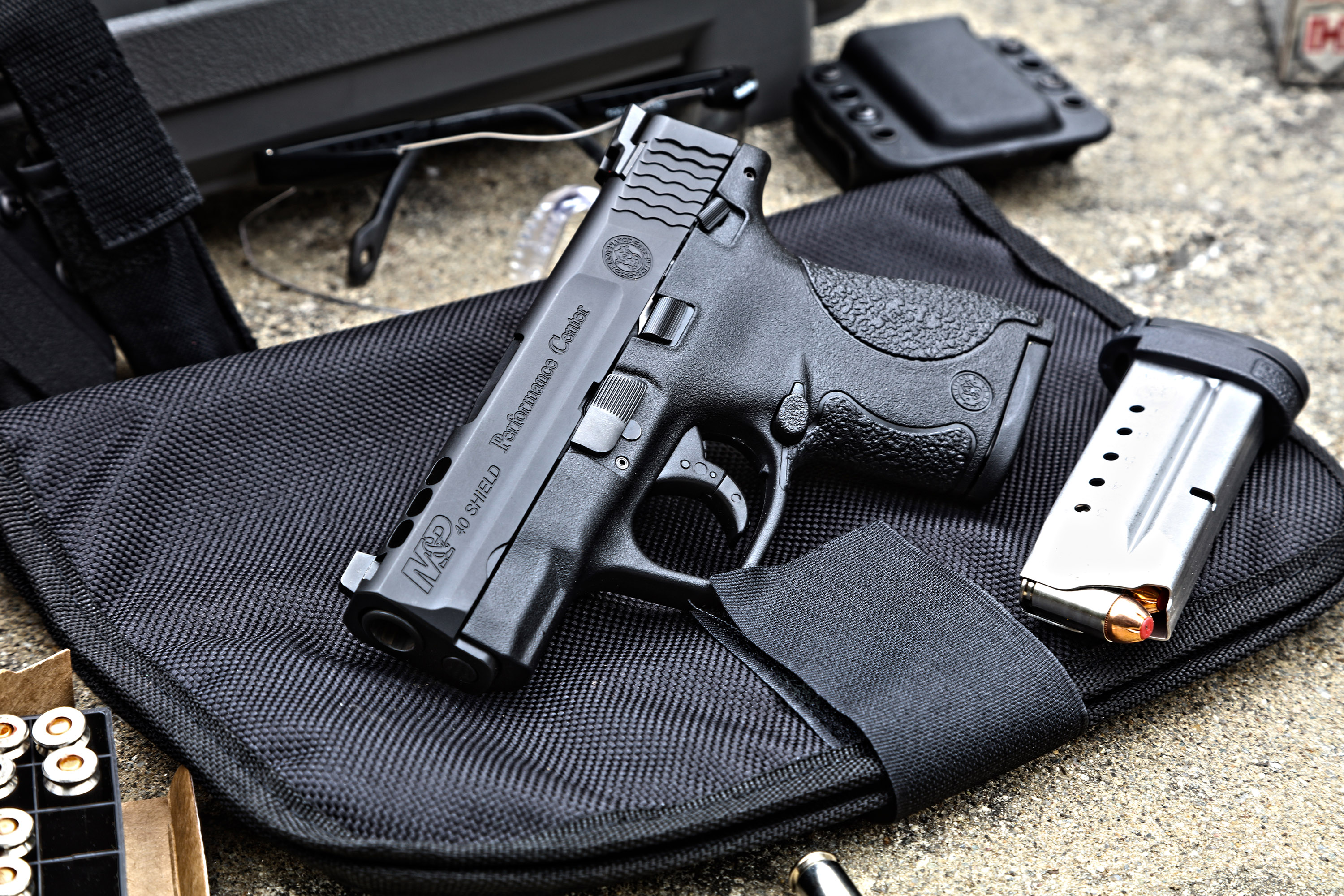 Performance Center Ported M&P Shield Night Sights