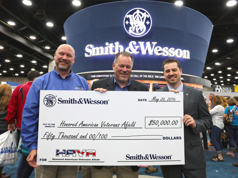 S&W Donates 50K to HAVA