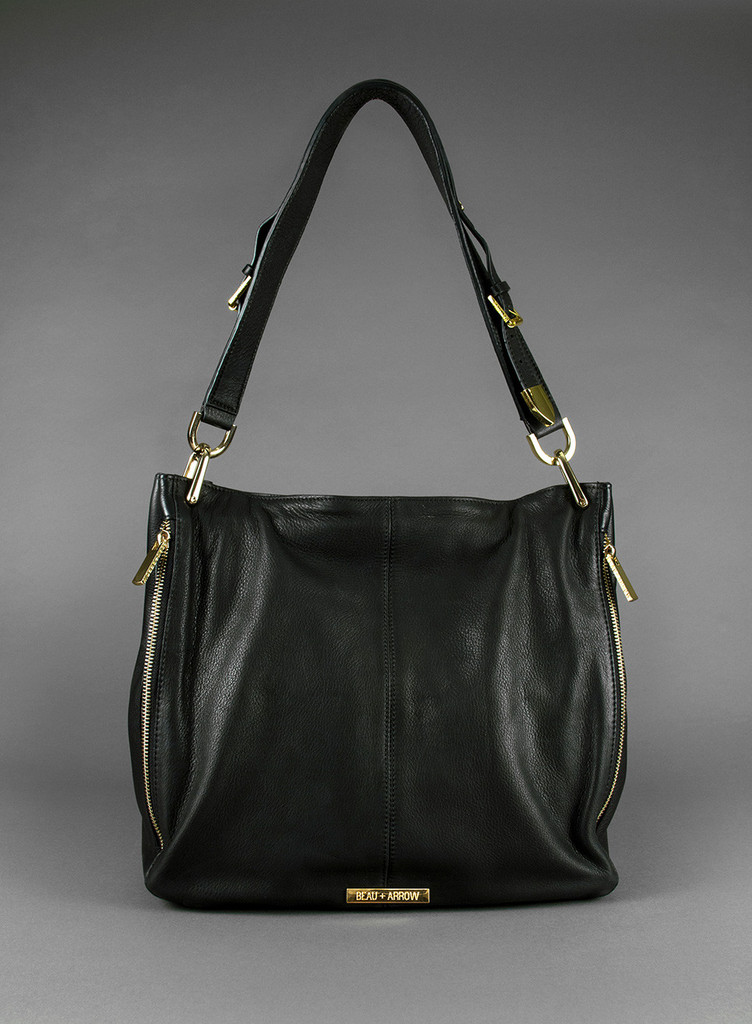 Beau + Arrow Black Kate Bag