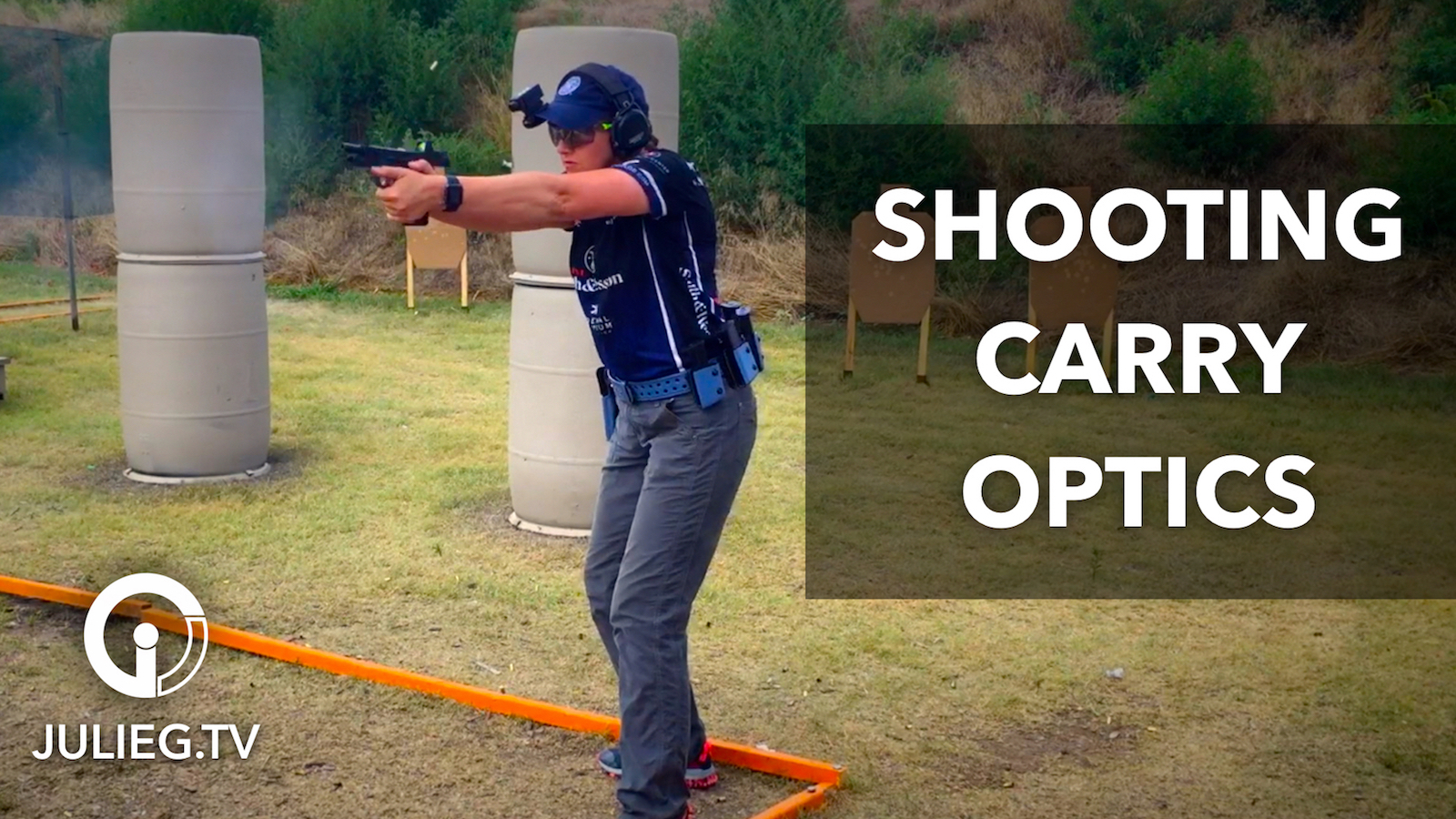 Gone Shooting: Highlights from USPSA Area 3 | JulieG.TV