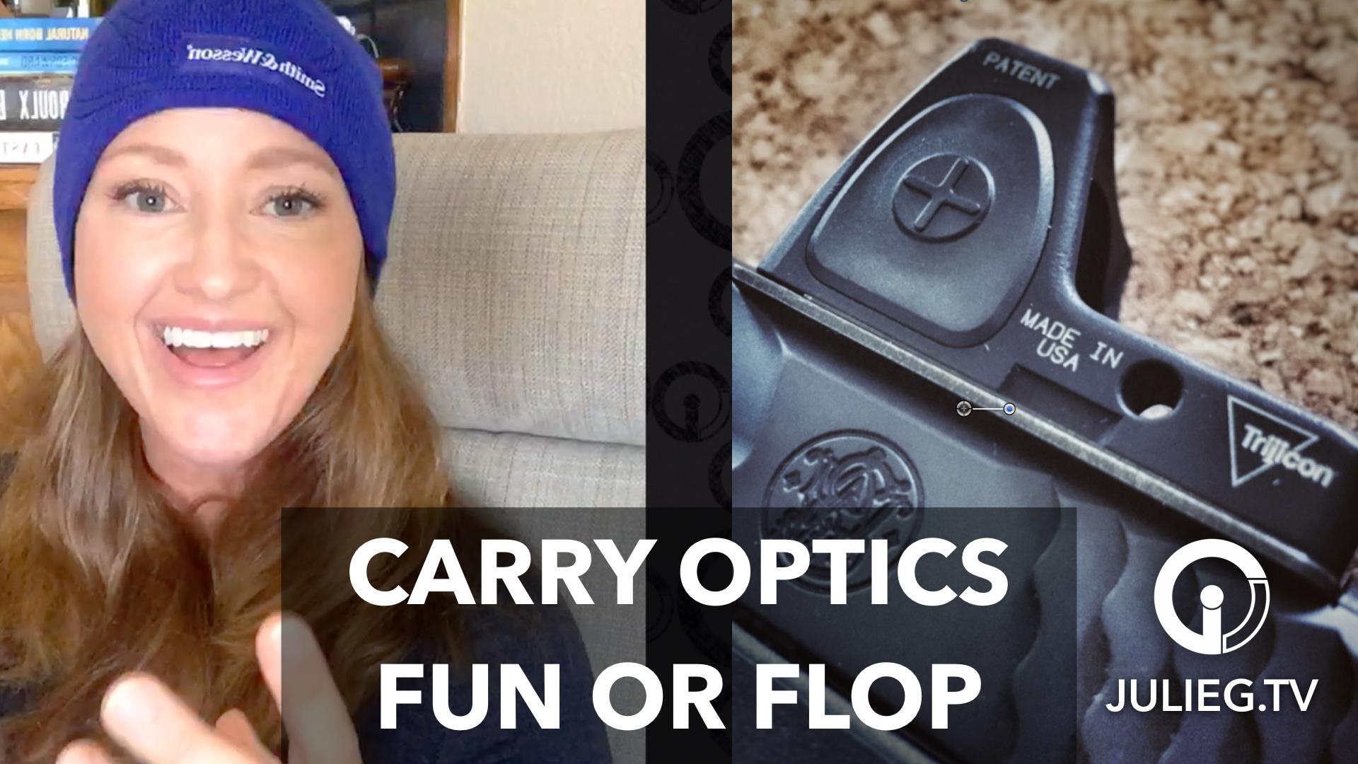 Carry Optics & USPSA Area 3 | Julie.TV