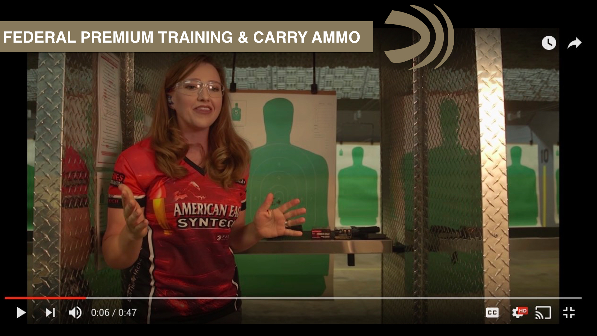 Choose the right ammo for the right job - Federal Premium & Julie Golob Shooting Tip