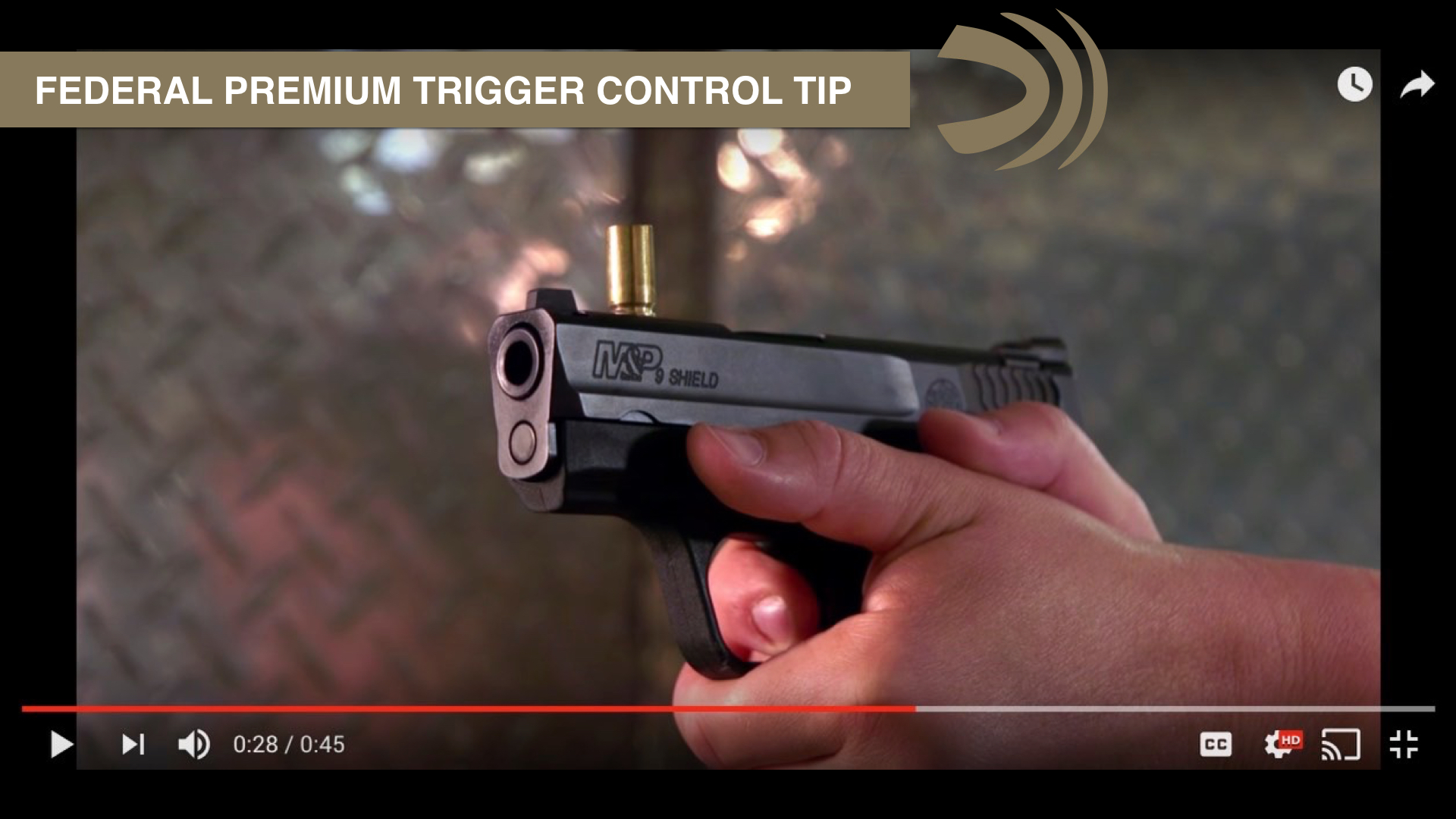 Improve your trigger control with this classic drill - Federal Premium & Julie Golob SHOOT Tip
