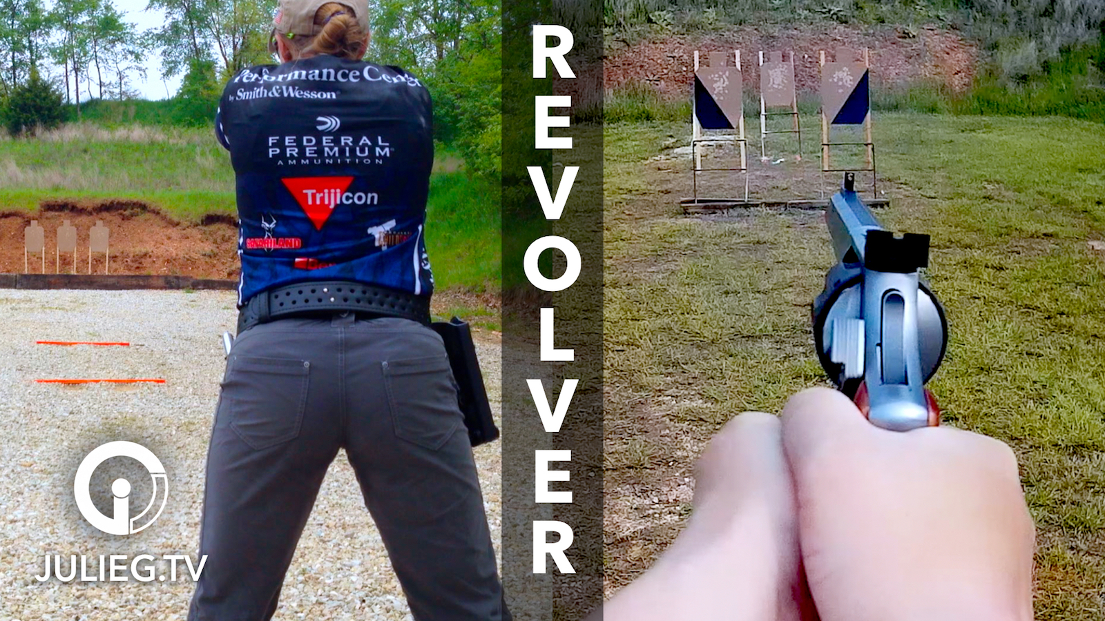 Match Video from 2016 USPSA Revolver Nationals with Julie Golob | JulieG.TV