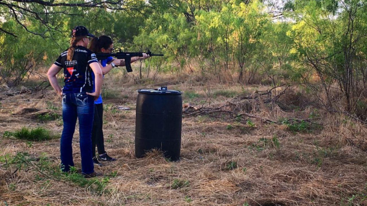 Love at First Shot - Erin shoots the S&W M&P15-22