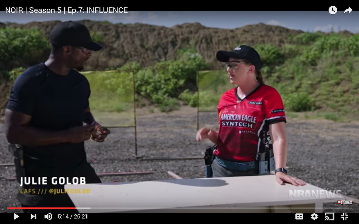 Julie Golob on NOIR on NRA.TV