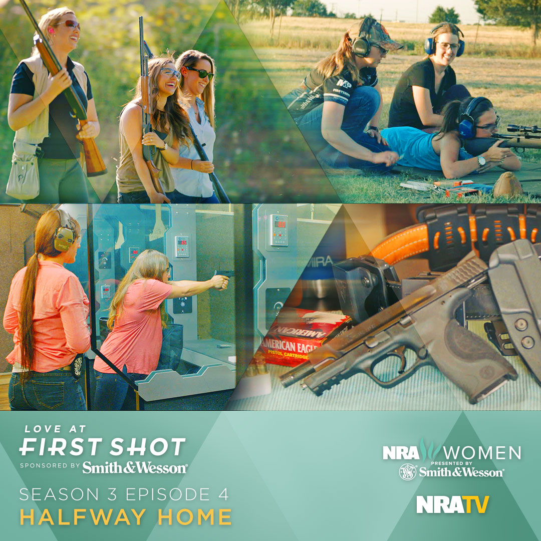 Julie Golob Teaches Erin & Maddy with a Thompson Center Rifle on Ep. 4 of Love At First Shot
