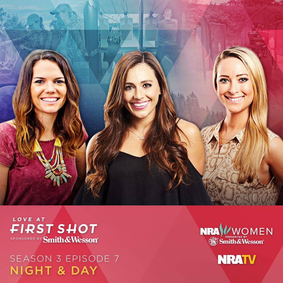 NRA Women Love at First Shot - Night & Day