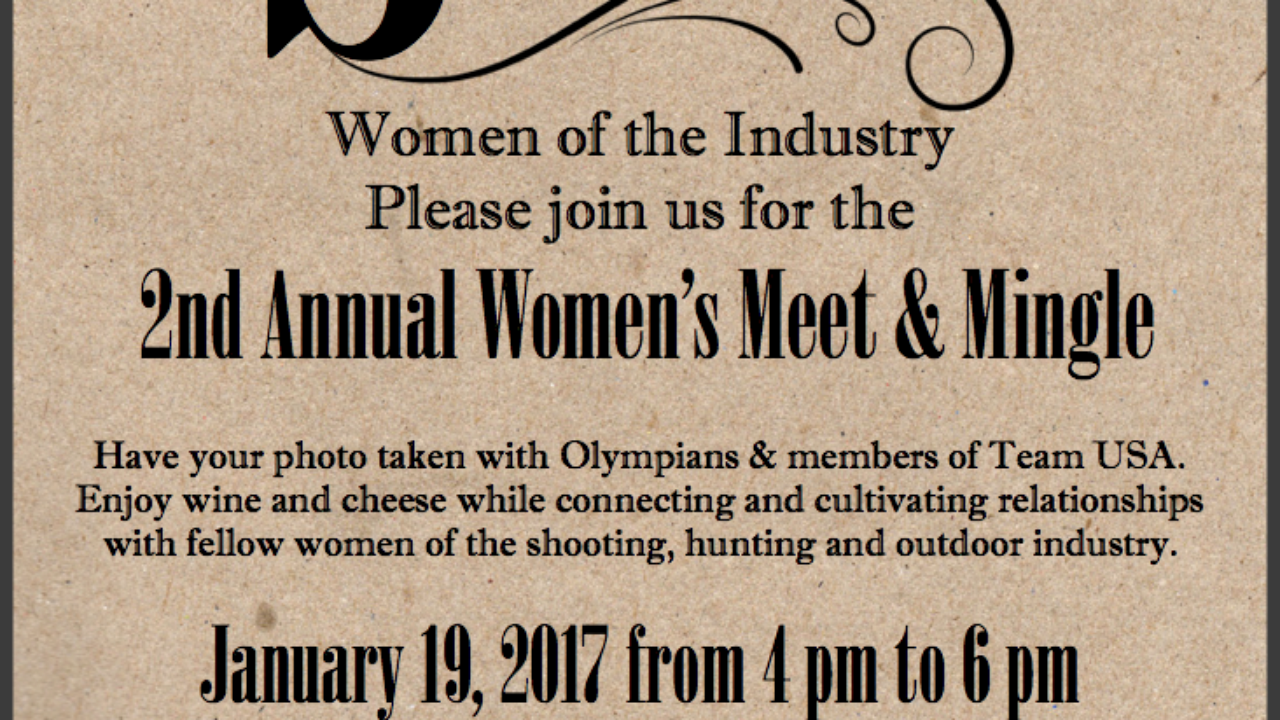2017 SHOT Womens Meet Mingle