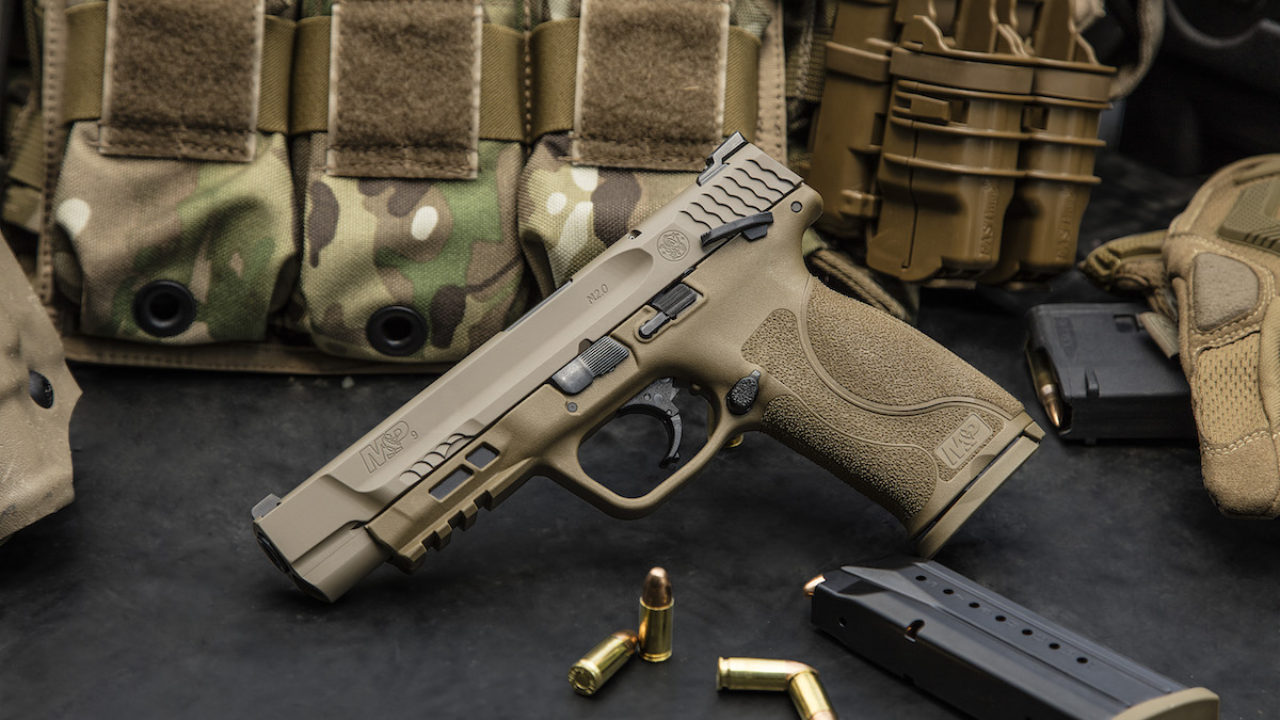 It's here! The new M&P 2.0.