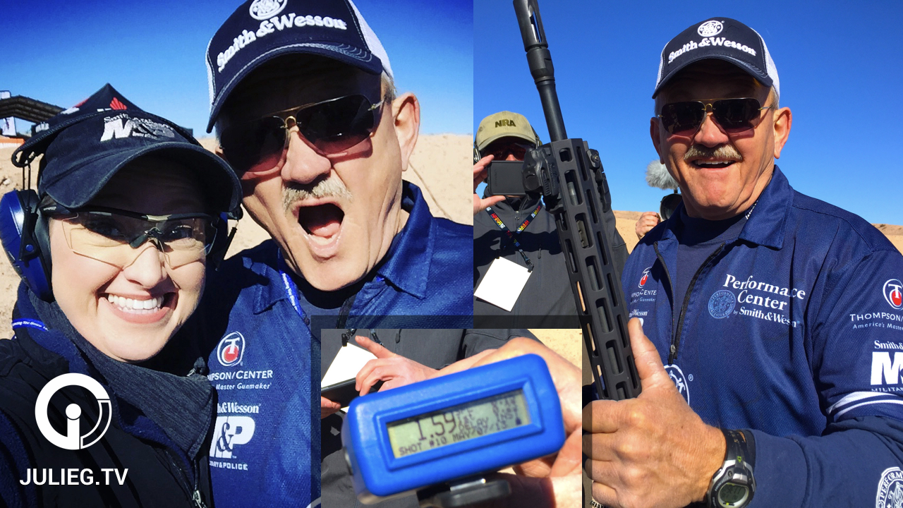 Jerry Miculek Sets Rifle Speed Shooting World Record at SHOT Show