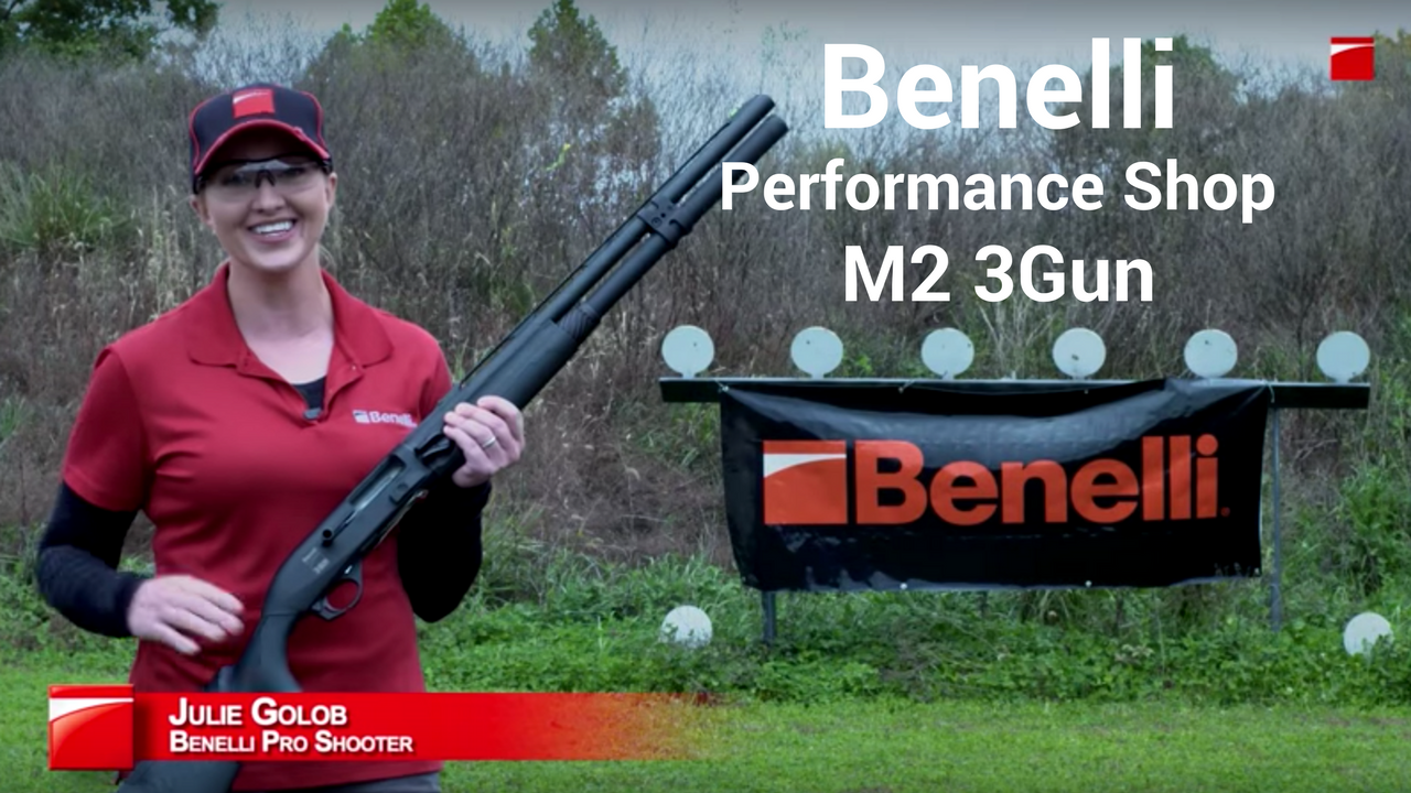 Julie Golob Benelli Performance Shop M2 3Gun