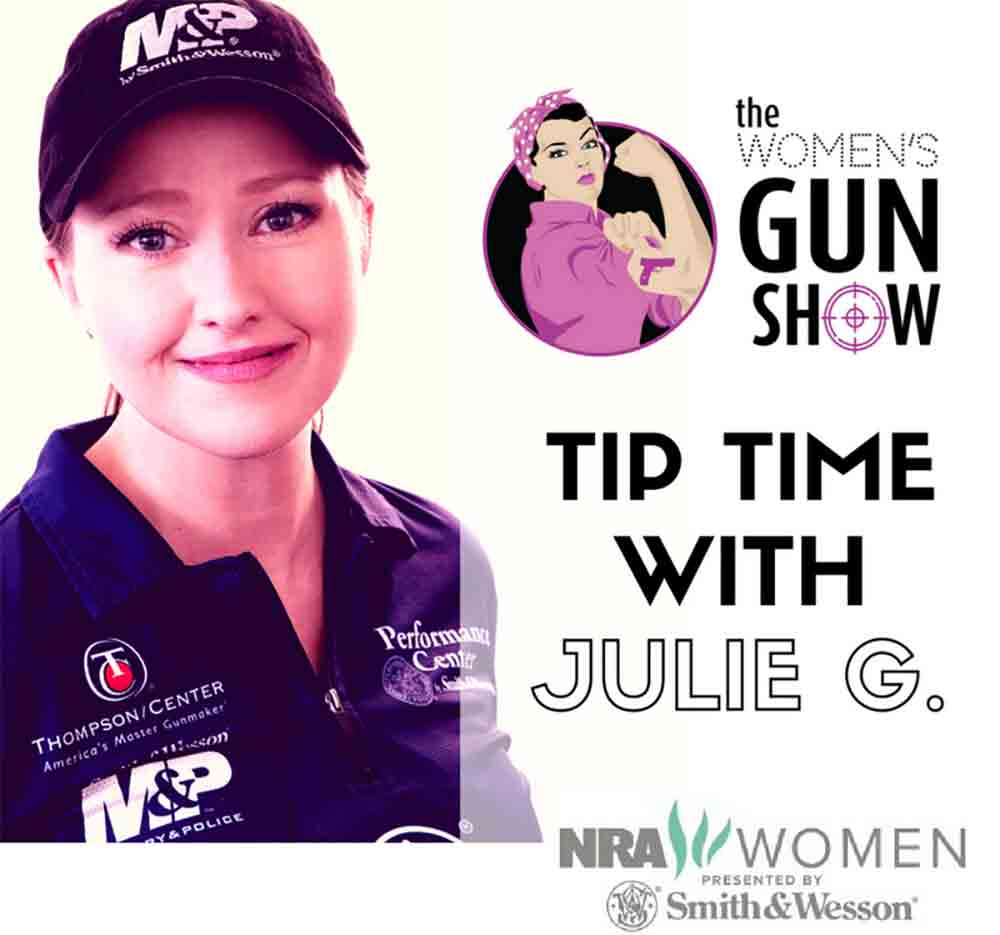 Julie Golob Joins Women's Gun Show Podcast