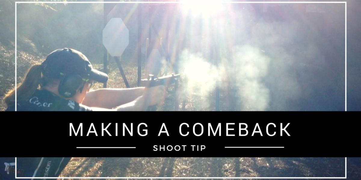 Julie Golob SHOOT Tip - Making a Comeback