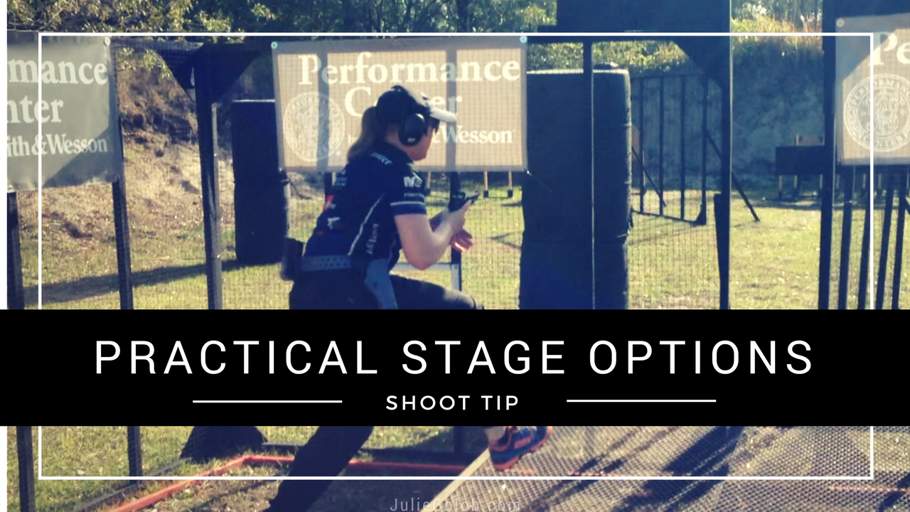 Julie Golob's SHOOT Tip on Practical Stage Options