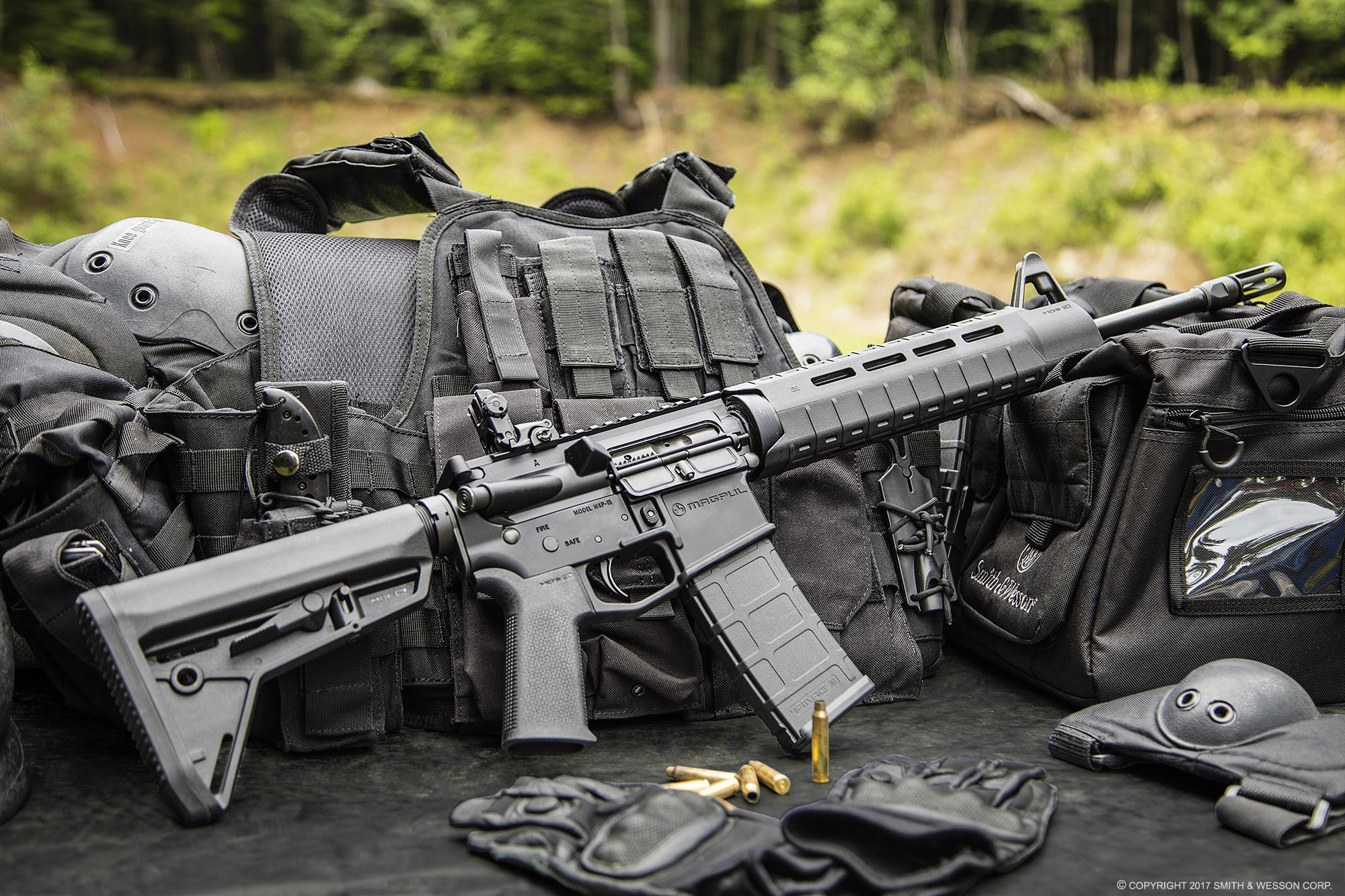 Smith & Wesson M&P15 MOE Black Rifle