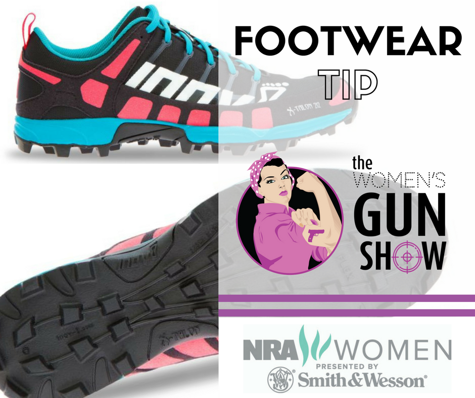 Footwear Tip with Julie Golob on the Women's Gun Show