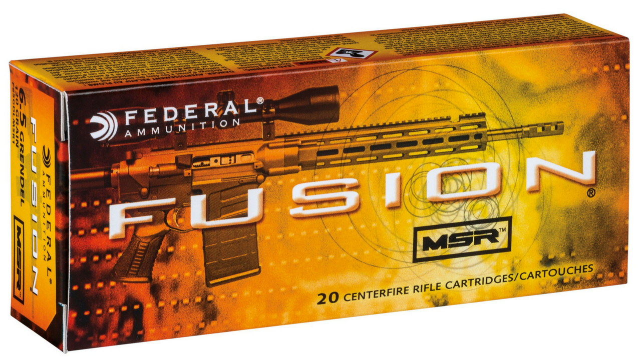 Federal Offers Fusion MSR 6.5 Grendel Load