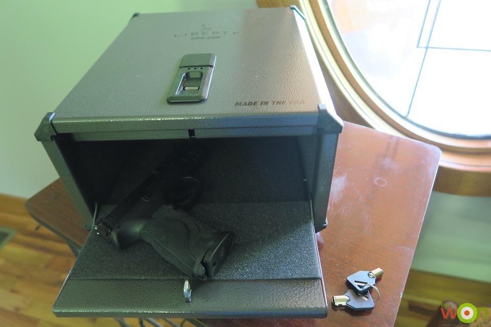 Women's Outdoor News Biometric Access Safe Review: Liberty Safe HDX-250 Smart Vault