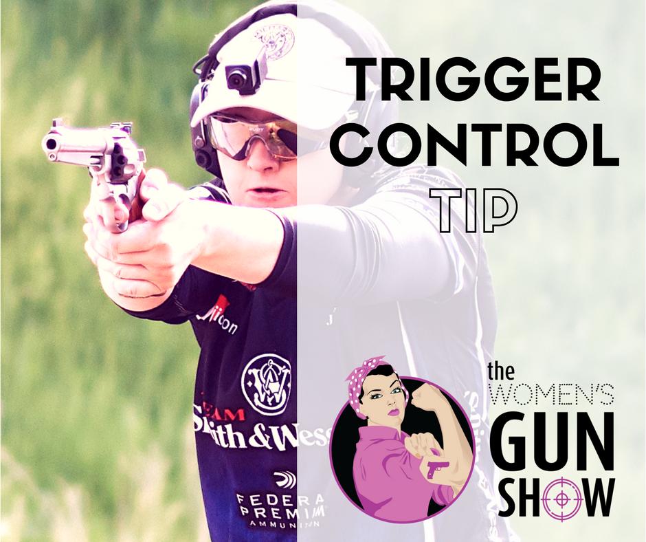 Women's Gun Show Podcast Trigger Control Tip with Julie Golob