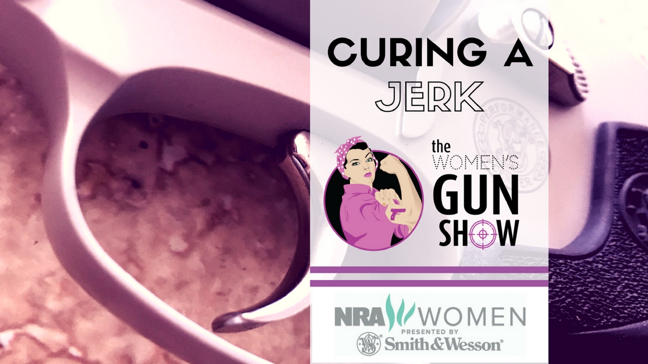 Cure a Jerk Women's Gun Show Tip Time Julie Golob