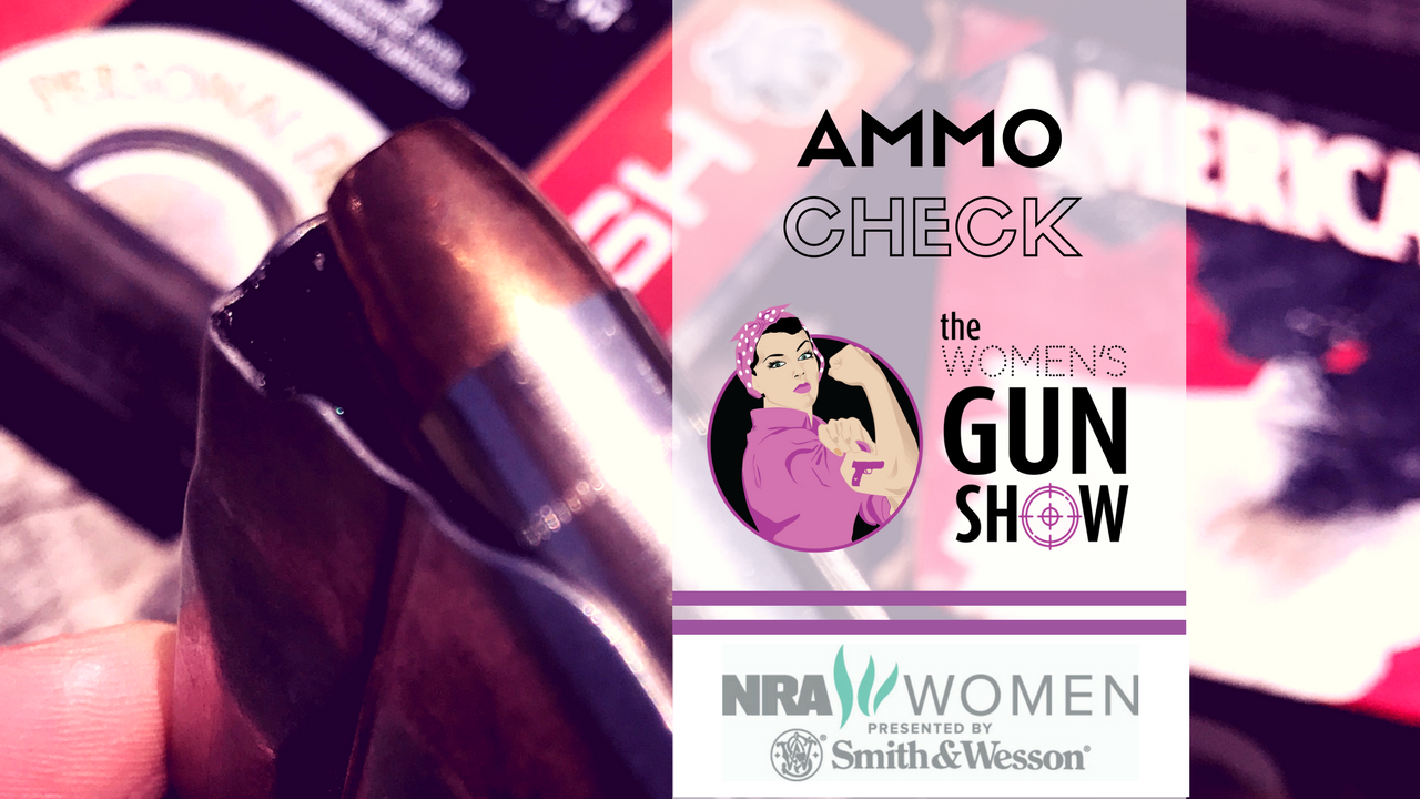 The importance of checking your ammo - Women's gun Show Tip Time with Julie Golob