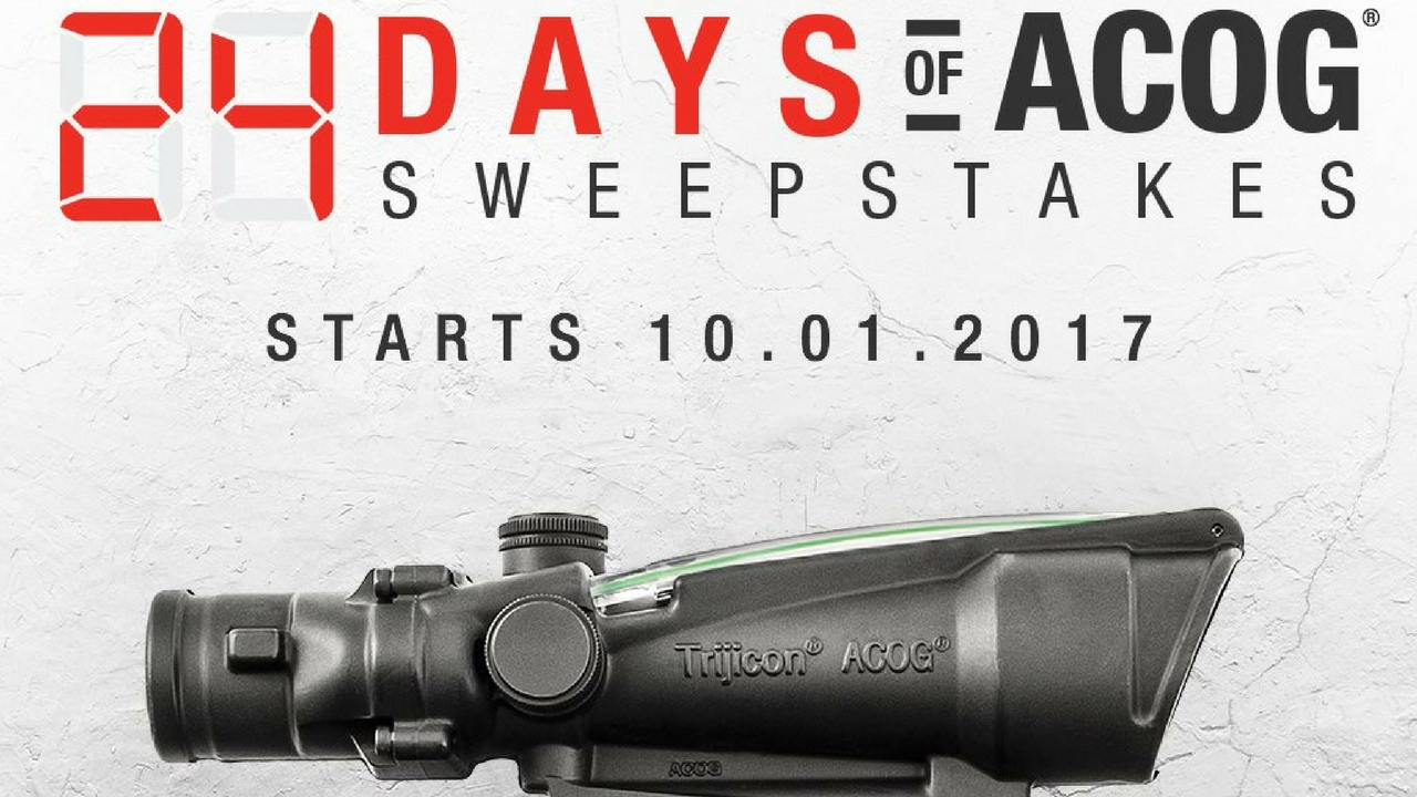 24 Days of ACOG Sweepstakes from Trijicon