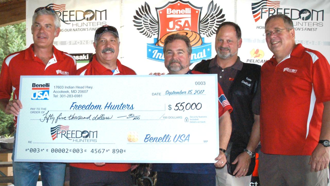 Benelli USA Made Freedom Hunters Donation