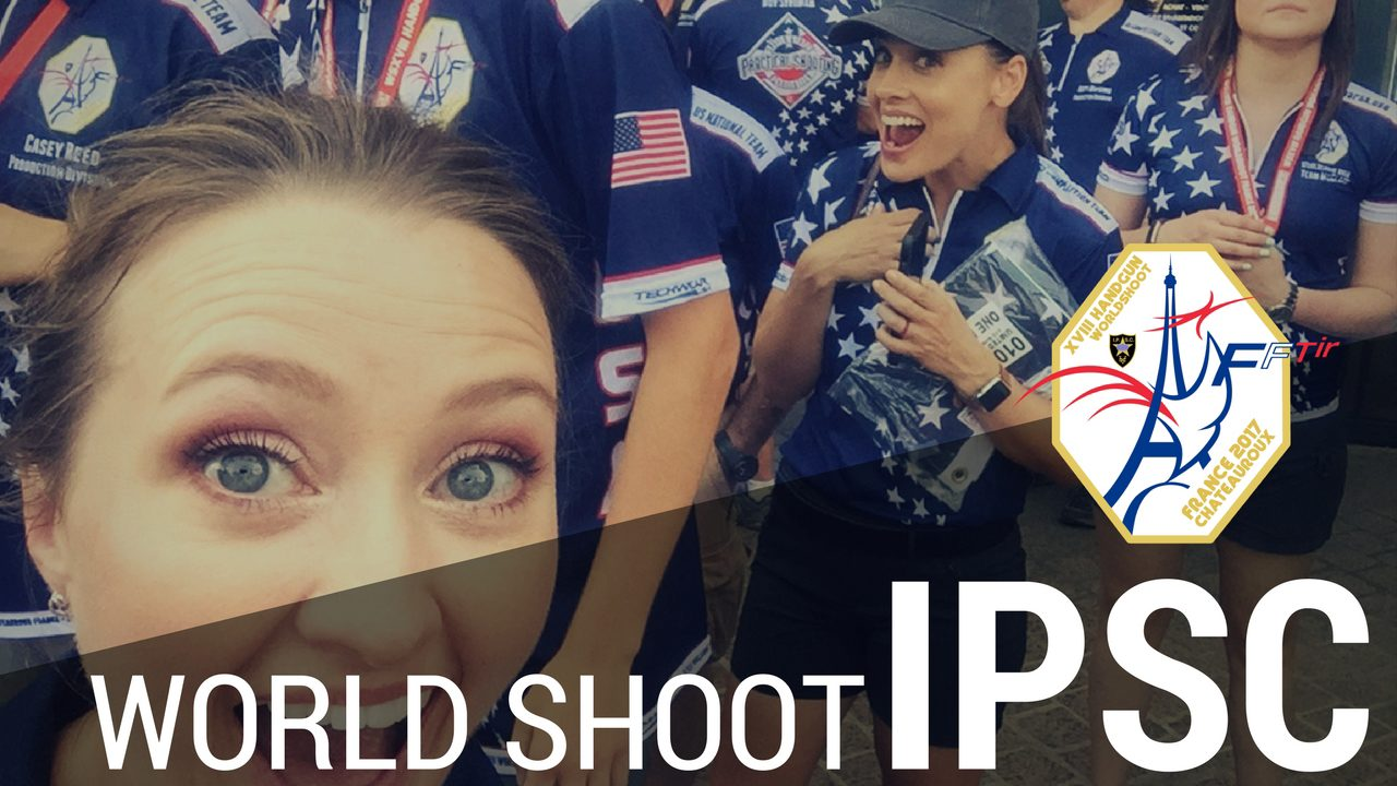 Watch IPSC Ladies World Champion Julie Golob and Team USPSA in the IPSC World Shoot Parade of Nations