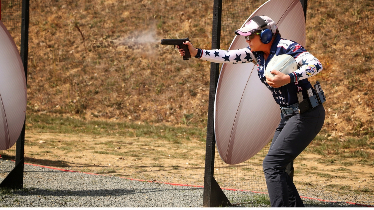 Julie Golob Wins IPSC World Gold Medal
