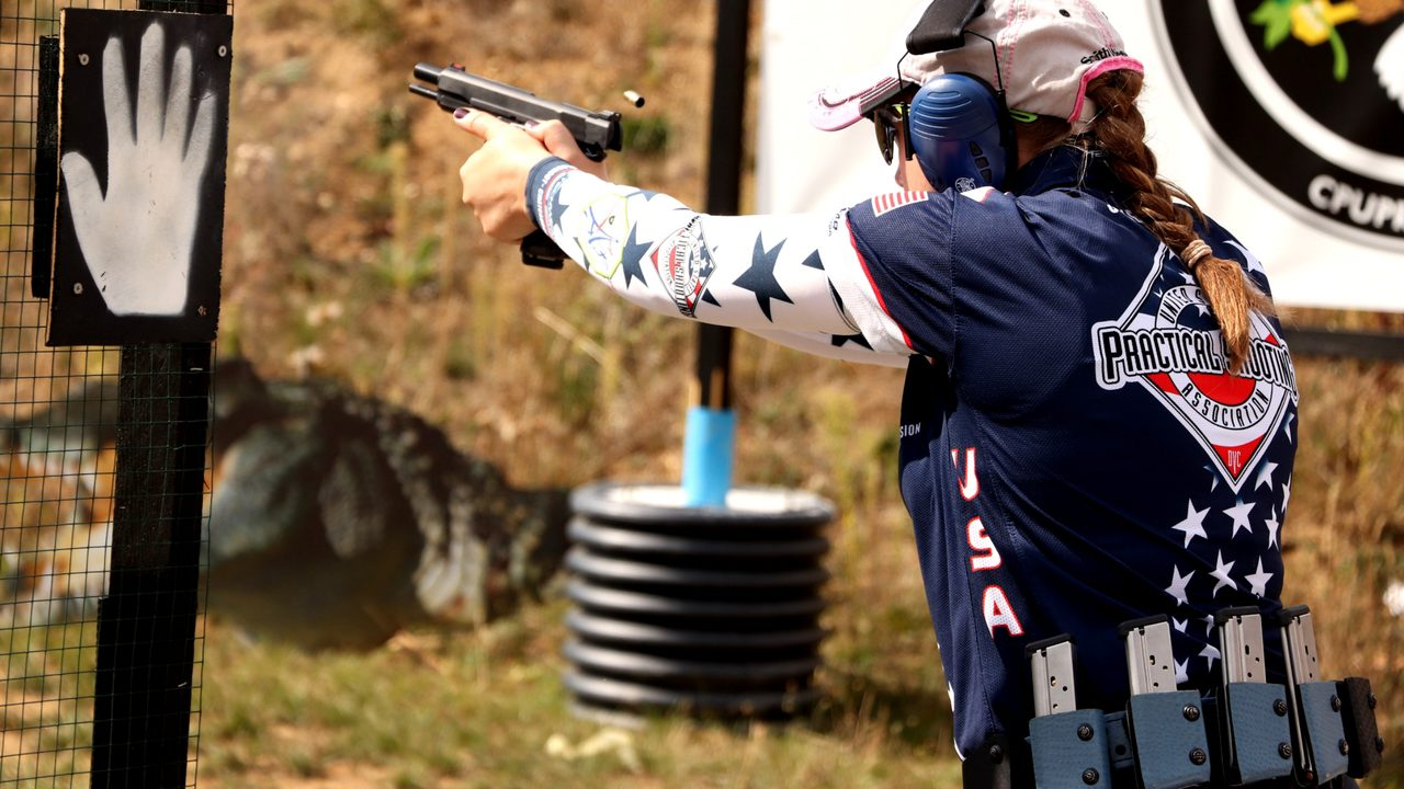 Team Safarialnd's Julie Golob takes IPSC World Shoot Classic Ladies Win