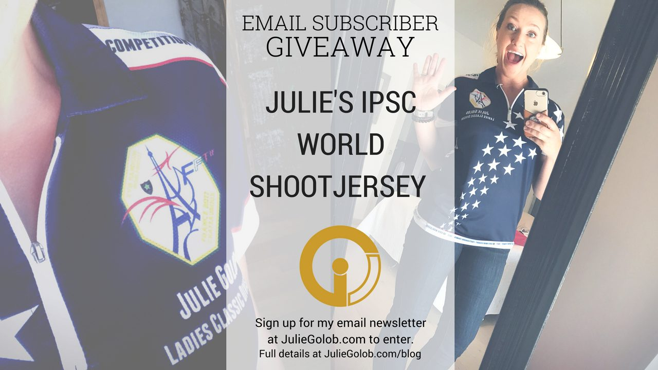 Julie Golob World Shoot Jersey Giveaway