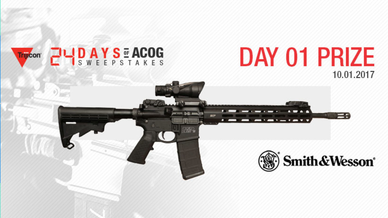 Trijicon 24 Days of ACOG Day 1
