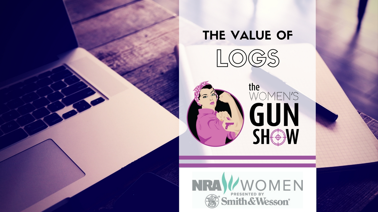 Women's Gun Show Julie Golob Value of Logs for Shooters