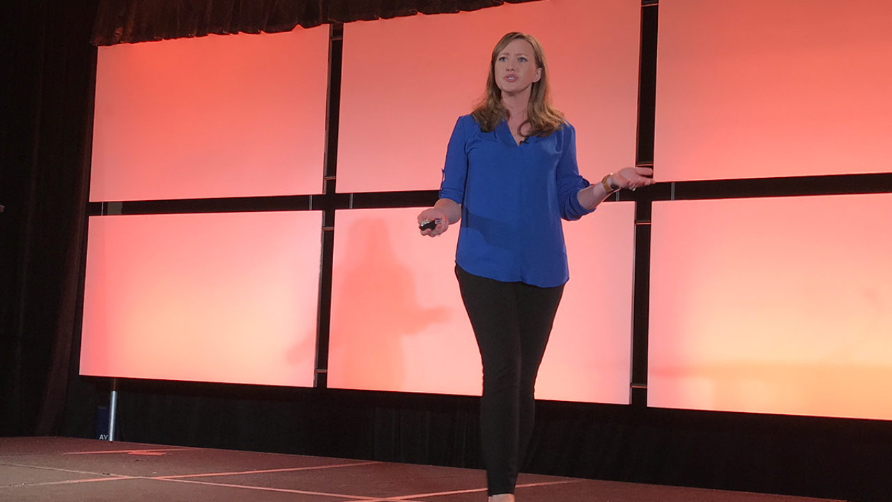 Julie Golob Leadership Keynote at 2018 SHOT Show