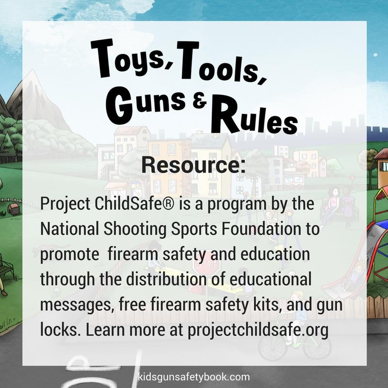 Toys Tool Guns Rules Childrens Book Gun Safety Project ...