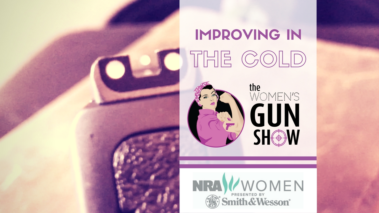Womens Gun Show Improving in the Cold Julie Golob