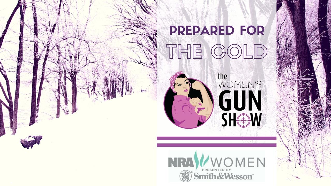 Womens Gun Show Prepared for the Cold Julie Golob