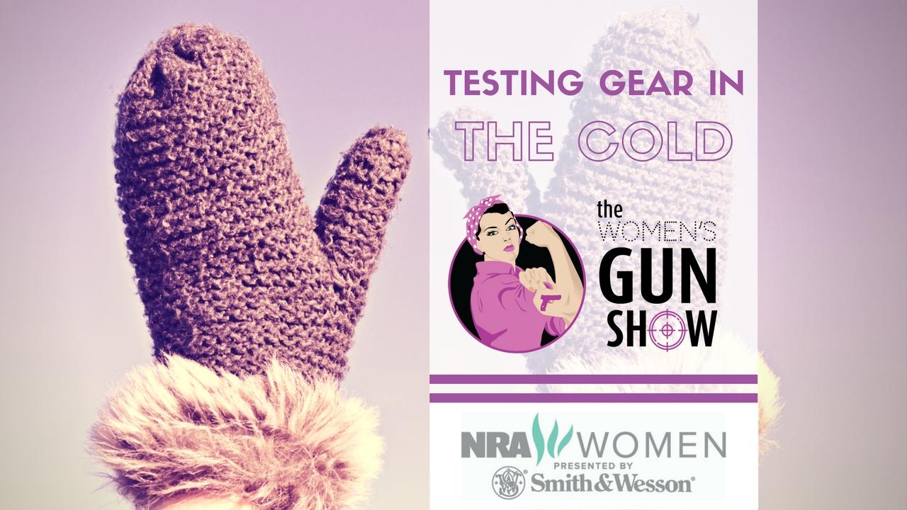 Womens Gun Show Testing Gear in the Cold Julie Golob