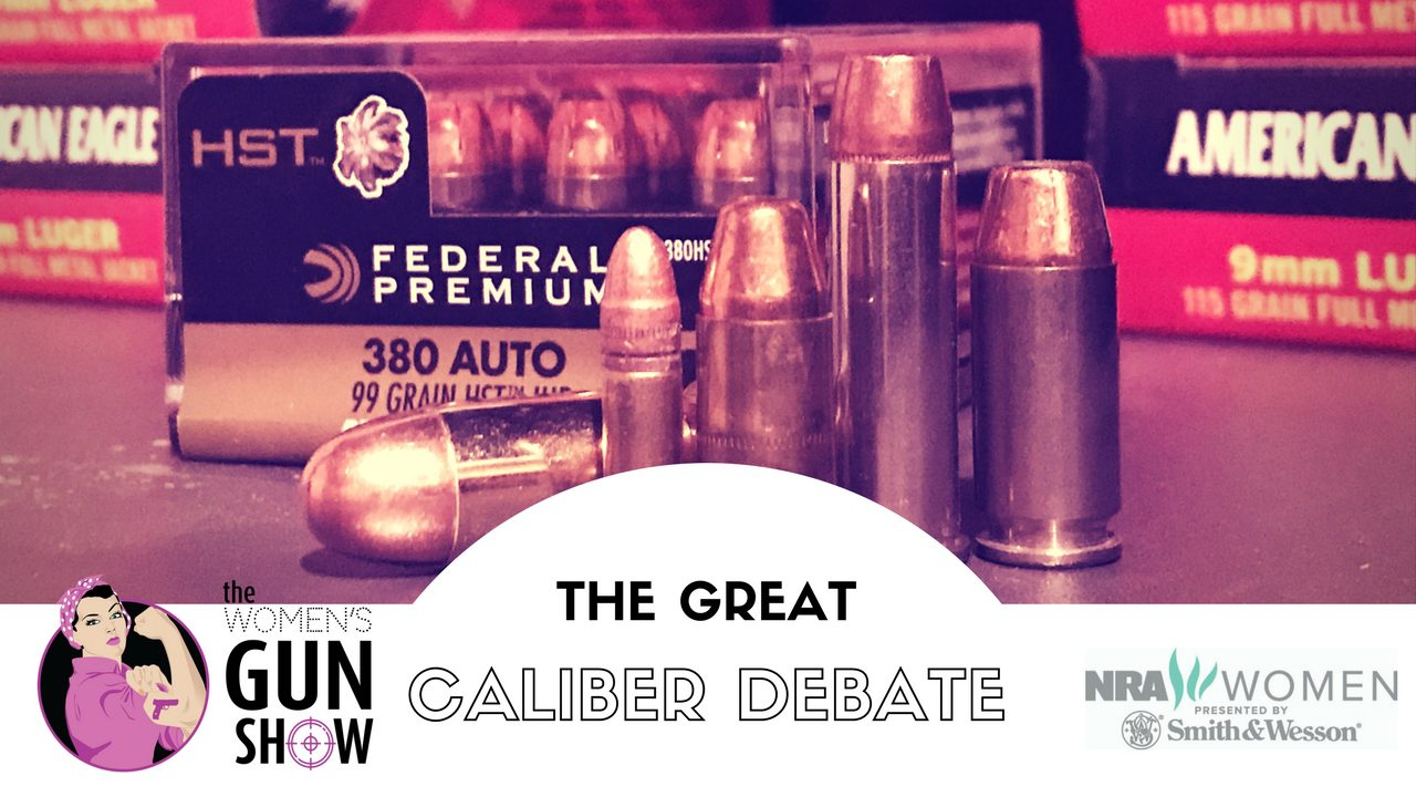 Womens Gun Show Podcast Julie Golob Great Caliber Debate