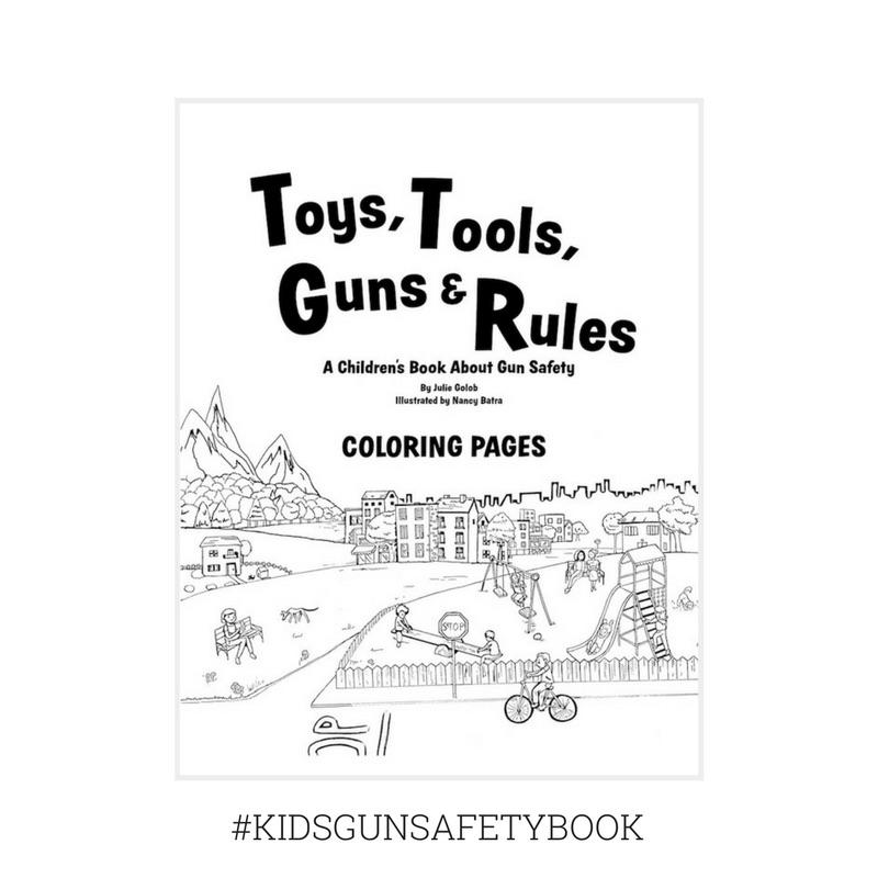 Toys Tools Guns amp Rules Coloring
