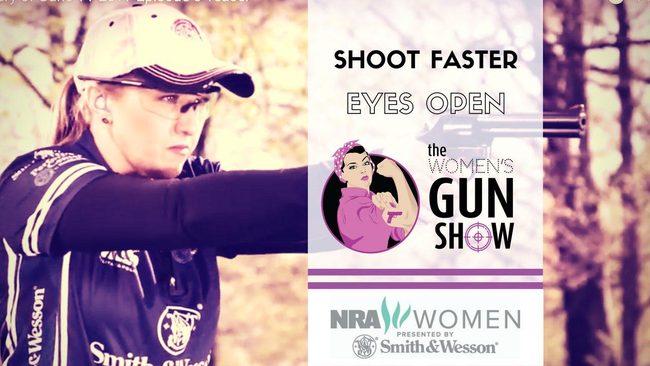 WGS Shoot Faster Eyes Open Julie Golob