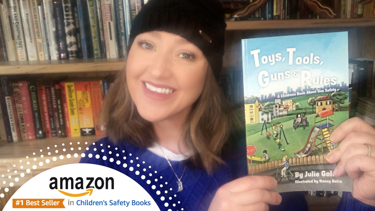 Julie Golob Bestseller Childrens Safety Book on Gun Safety and Firearms